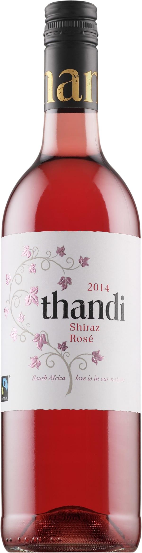 Thandi Shiraz Rosé 2016