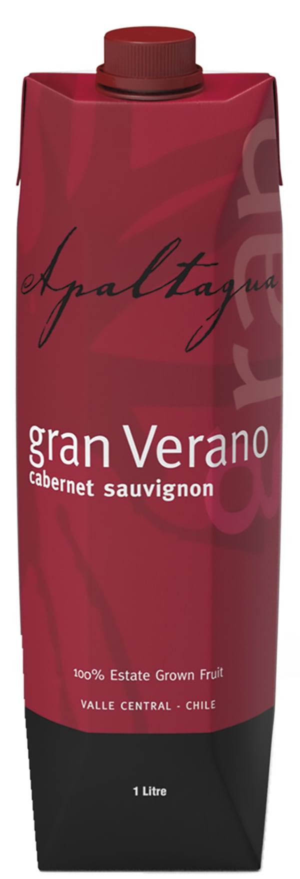 Gran Verano Cabernet Sauvignon 2015 kartongförpackning