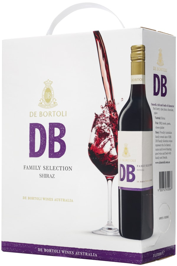 De Bortoli DB Shiraz 2016 bag-in-box