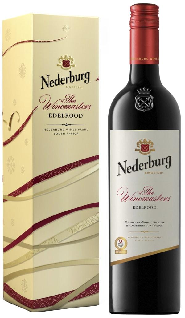 Nederburg Winemaster's Edelrood 2015 lahjapakkaus