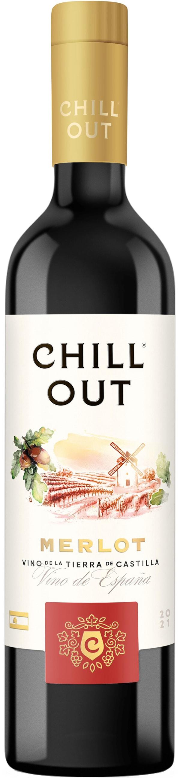 Chill Out Soft & Vibrant Merlot 2016 plastic bottle
