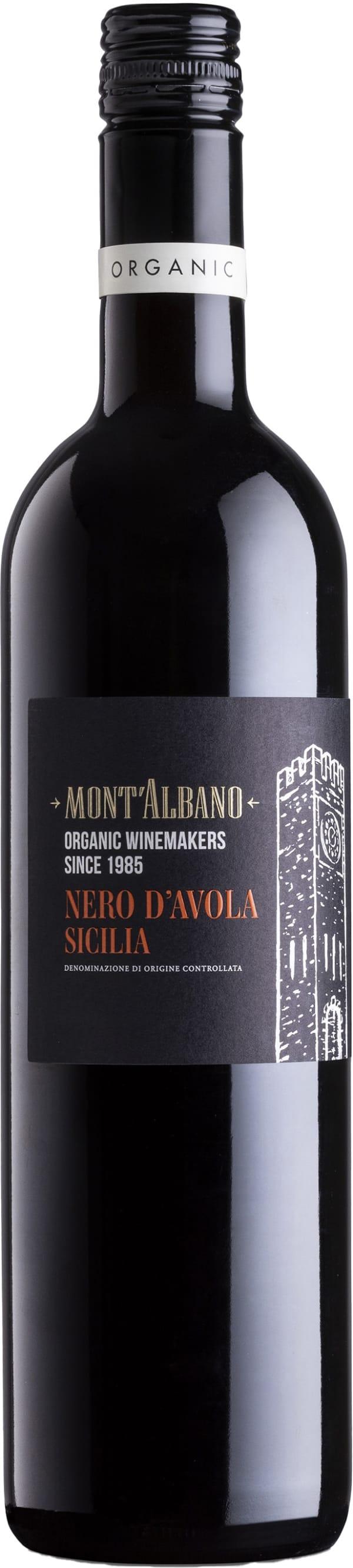 Mont'Albano Organic Nero d'Avola 2015