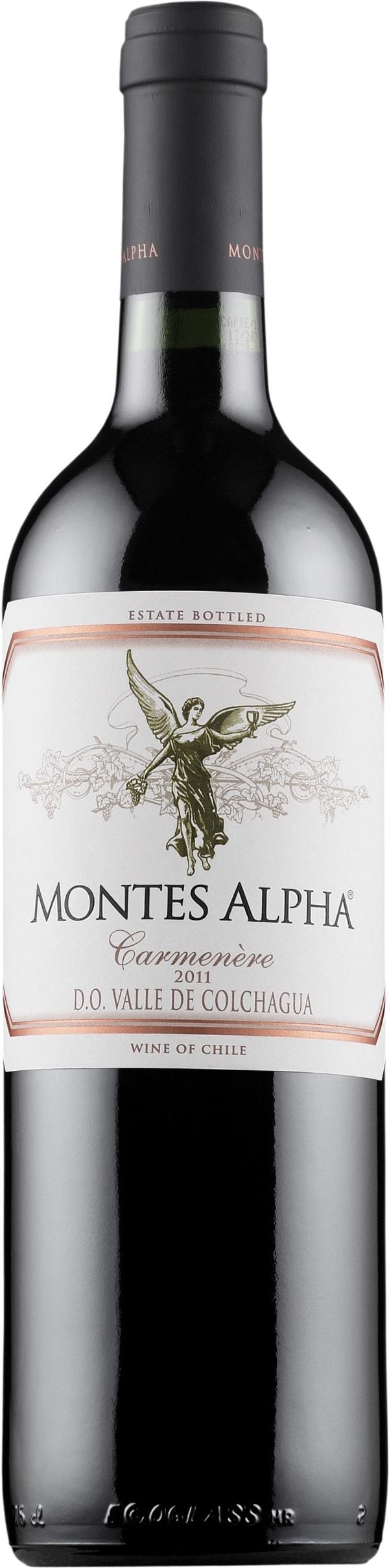 Montes Alpha Carmenère 2013