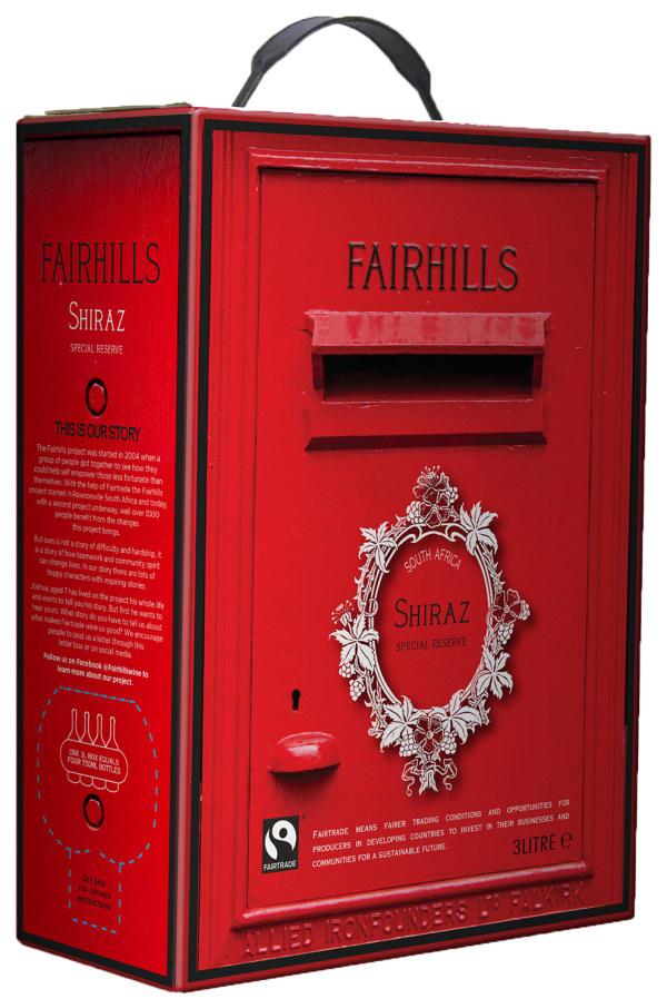 Fairhills Shiraz 2016 bag-in-box