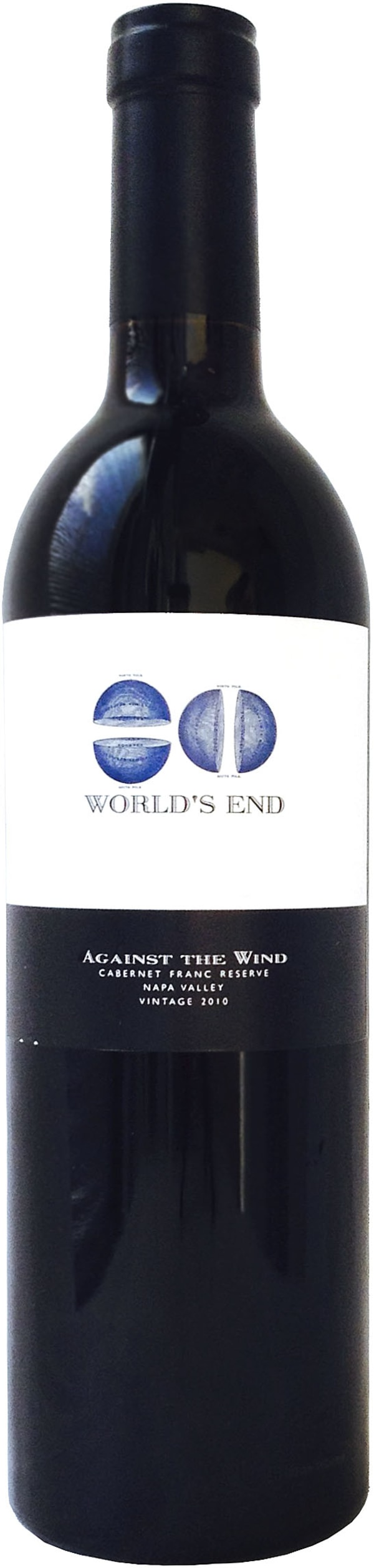 Worlds End Against the Wind Cabernet Franc Reserve 2010 2010