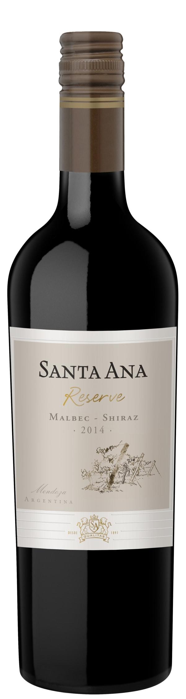 Santa Ana Reserve Malbec Shiraz 2015