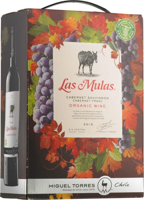 Las Mulas Cabernet Sauvignon Cabernet Franc 2015 lådvin