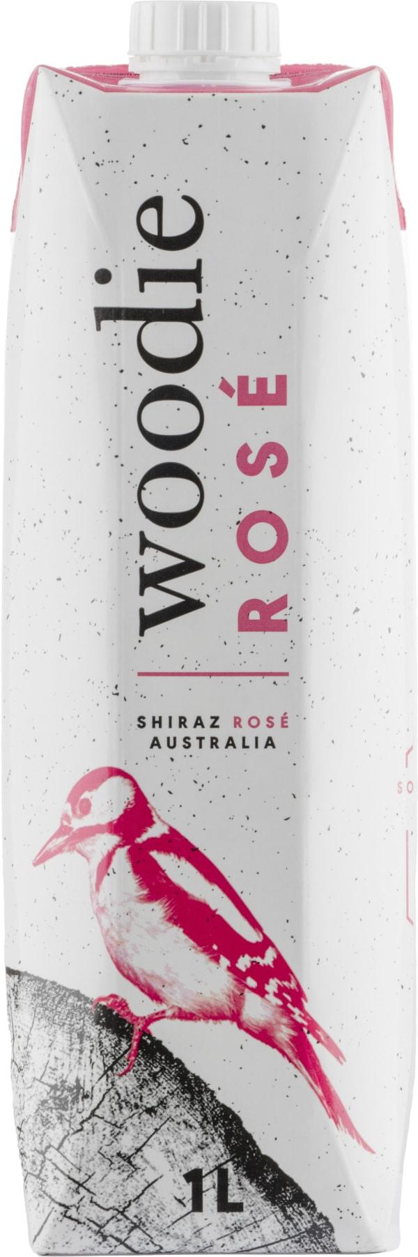 Woodie Rosé 2017 kartongförpackning