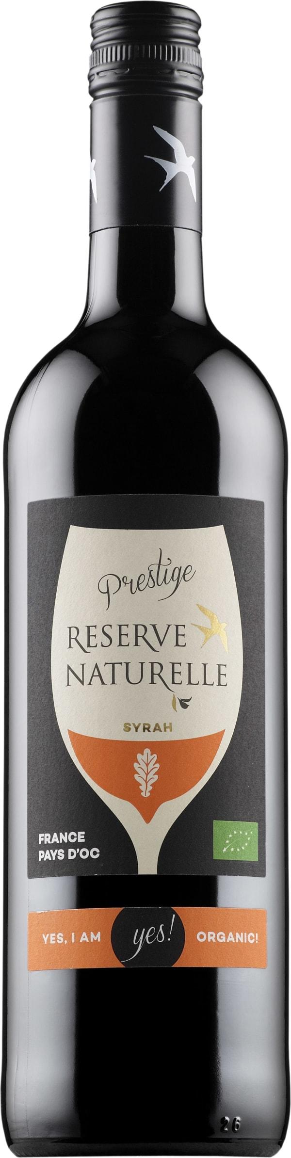 Reserve Naturelle Prestige Syrah 2015