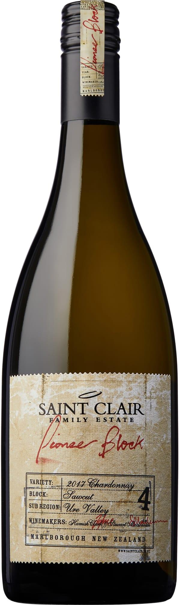 Saint Clair Pioneer Block Sawcut Chardonnay 2015
