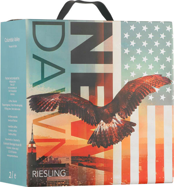 New Dawn Riesling 2015 bag-in-box