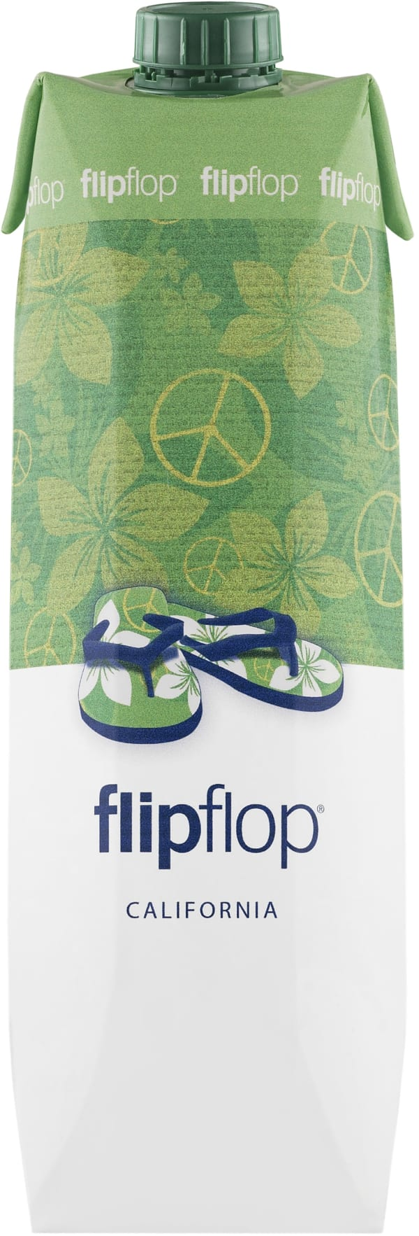FlipFlop Californian White 2016 carton package