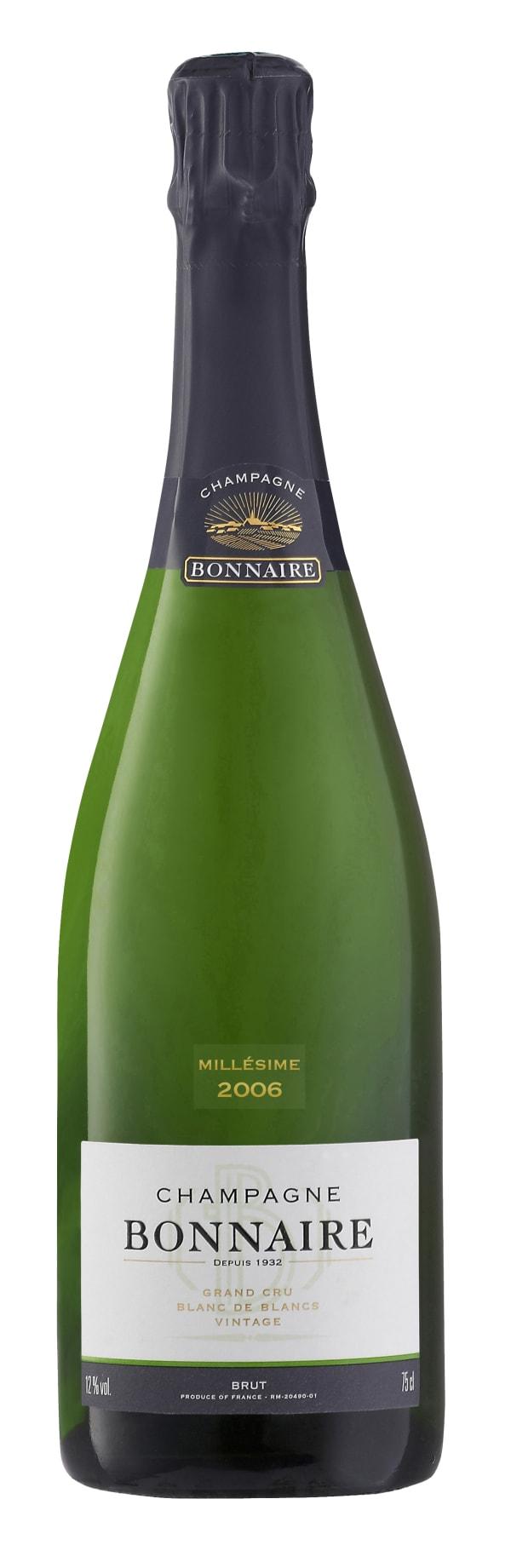 Bonnaire Blanc de Blancs Grand Cru Champagne Brut 2006