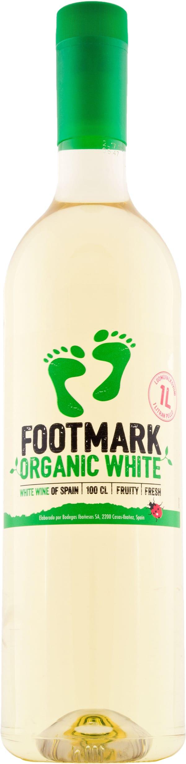 Footmark White Organic 2016 plastflaska