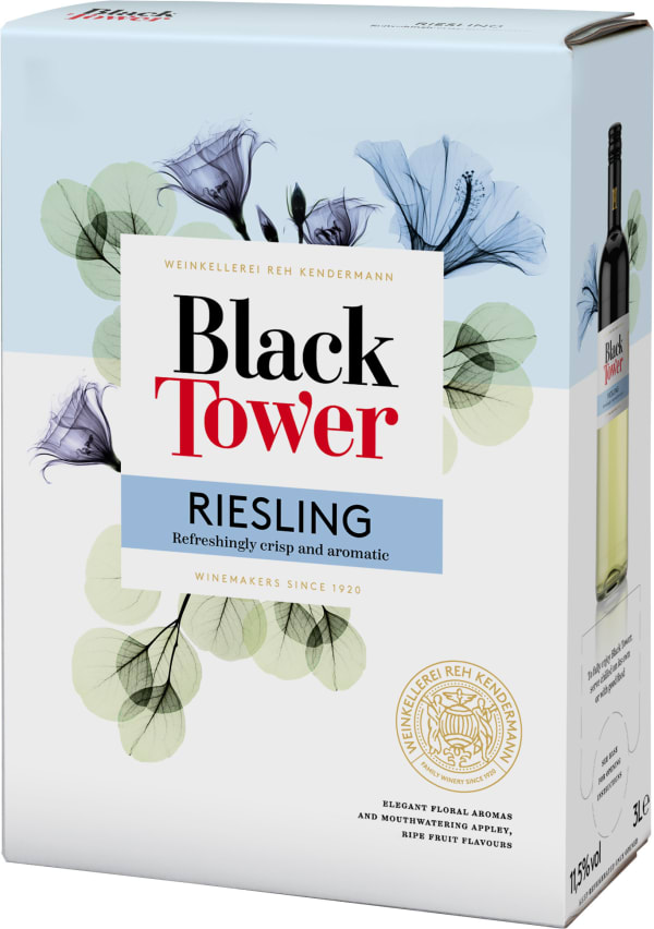 Black Tower Dry Riesling  bag-in-box