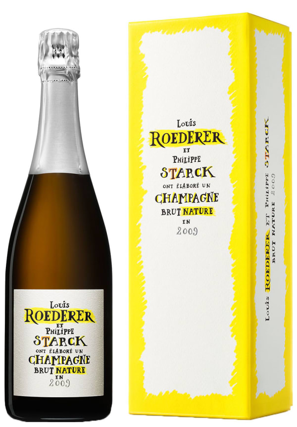 Louis Roederer et Philippe Starck Champagne Brut Nature 2009