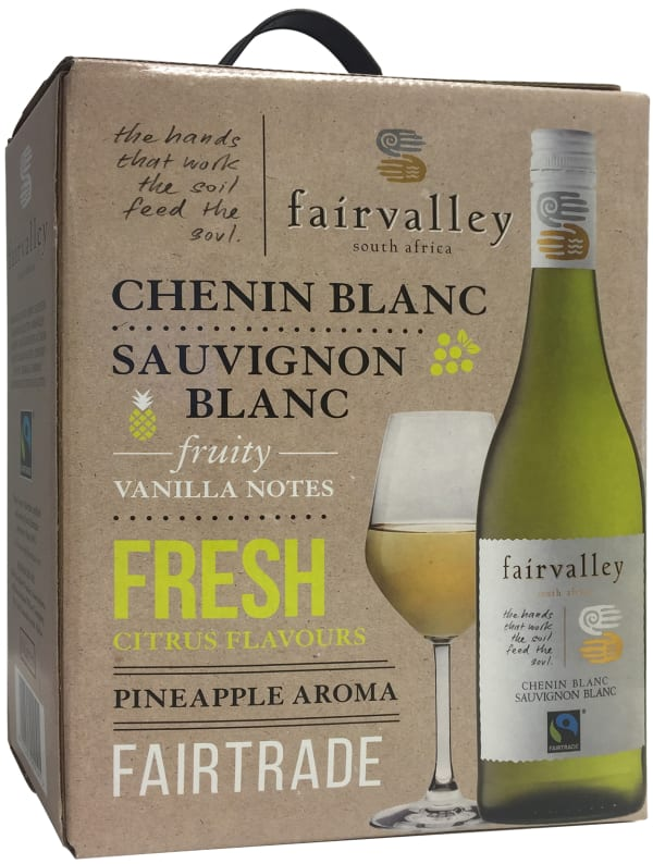 Fairvalley Chenin Blanc Sauvignon Blanc 2016 bag-in-box