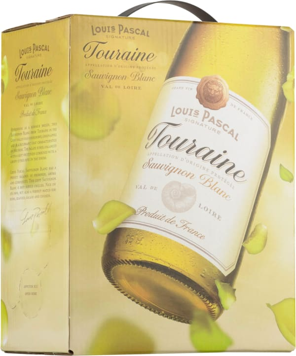 Louis Pascal Signature Touraine Sauvignon Blanc 2015 bag-in-box