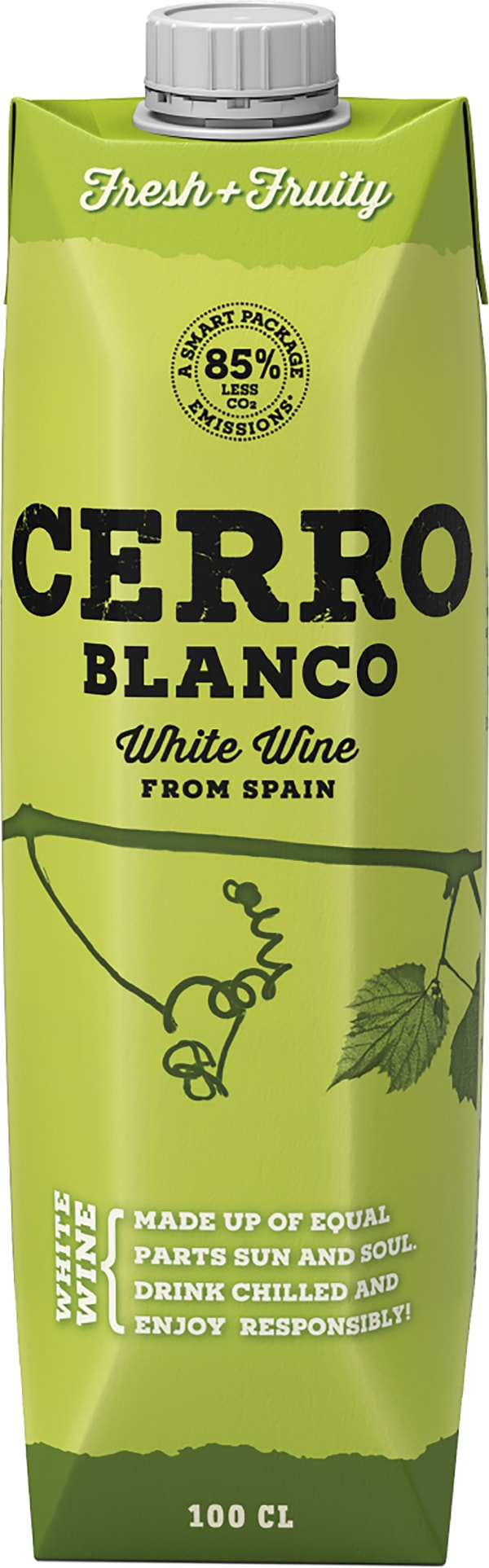 Cerro Blanco Verdejo Chardonnay  carton package