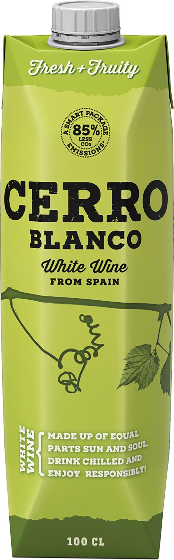 Cerro Blanco Verdejo Chardonnay  kartonkitölkki