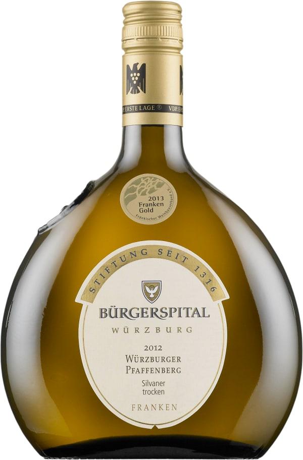 Bürgerspital Würzburger Pfaffenberg Silvaner Trocken 2015