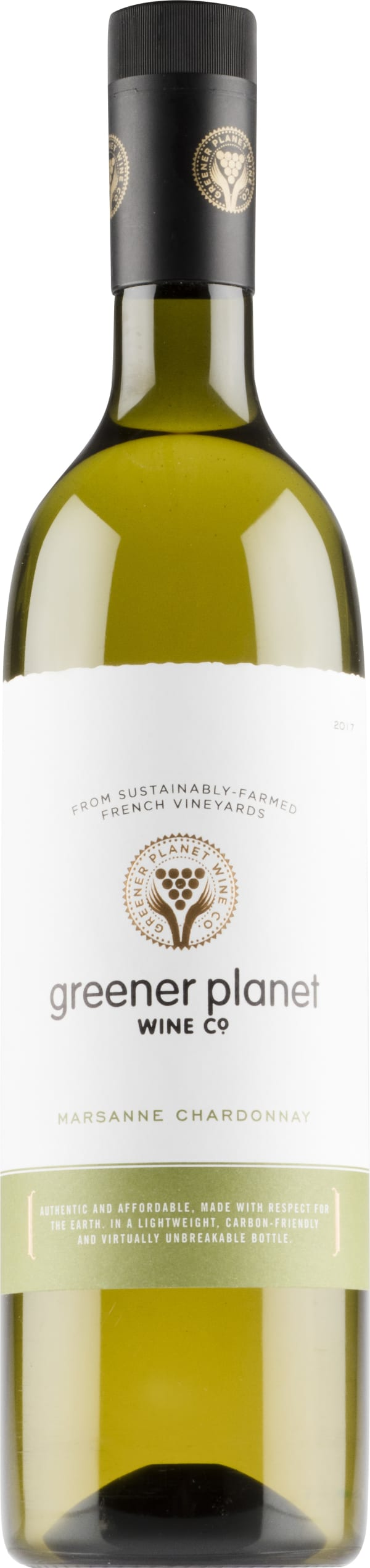 Greener Planet Marsanne Chardonnay 2016 plastic bottle