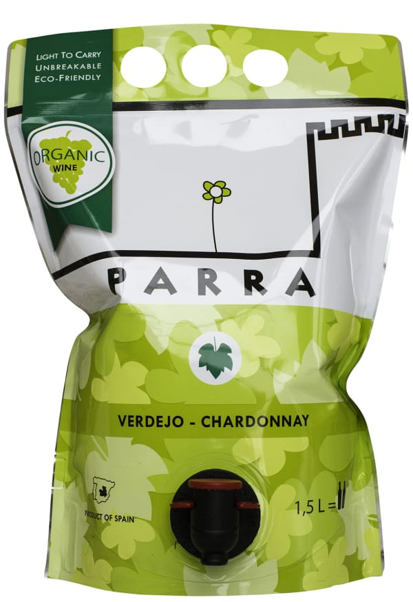 Parra Organic Verdejo Chardonnay 2016 påsvin