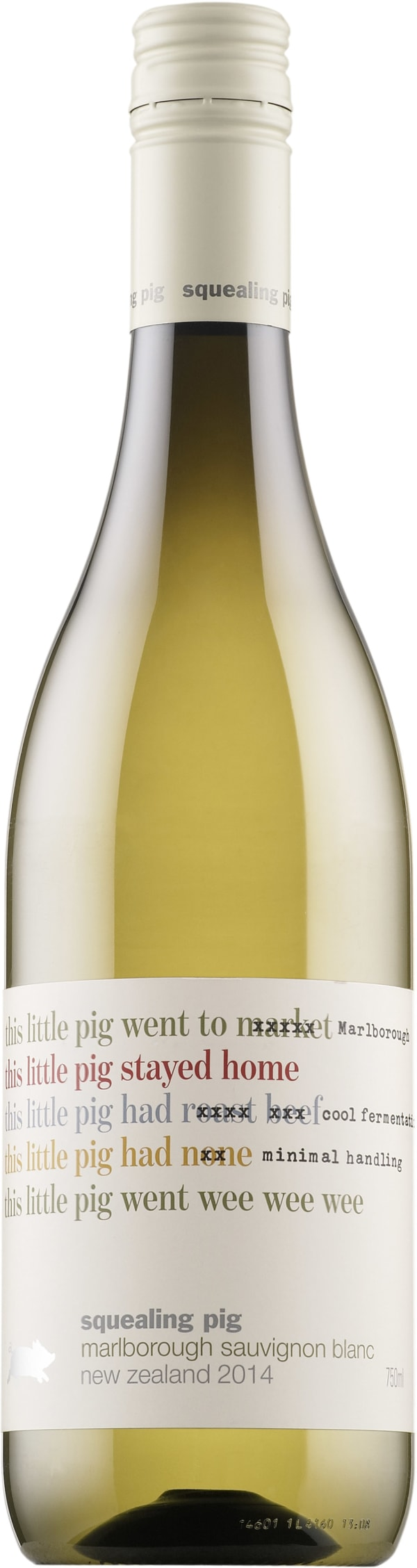 Squealing Pig Sauvignon Blanc 2016 plastic bottle