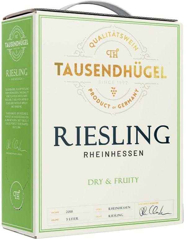 Tausendhügel Dry Riesling 2016 bag-in-box