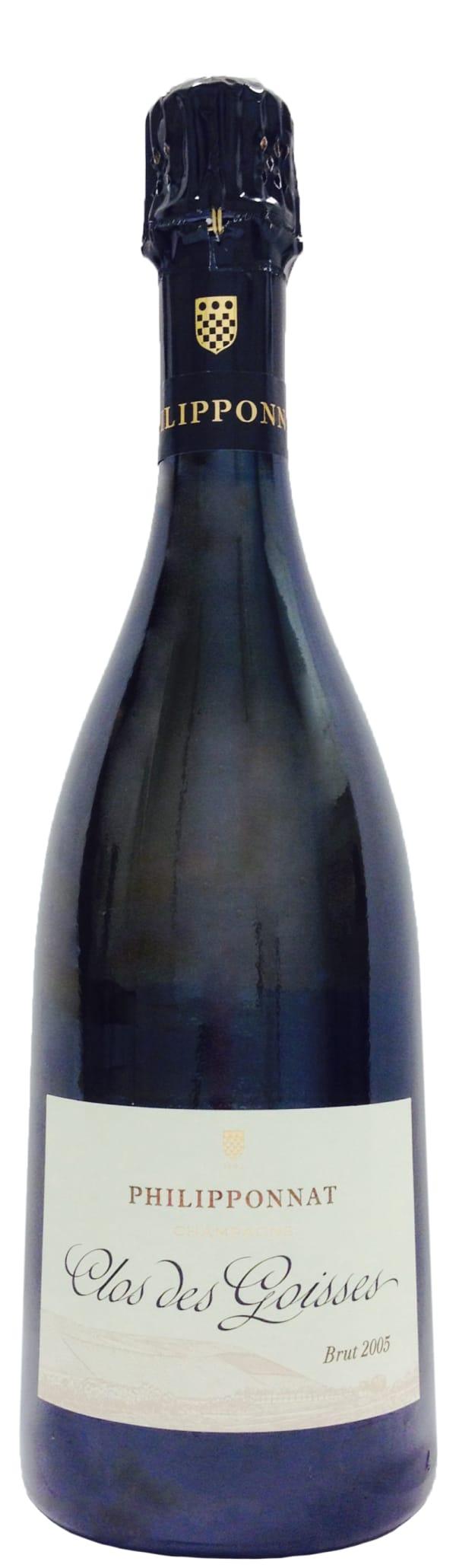 Philipponnat Clos des Goisses Champagne Brut 2005