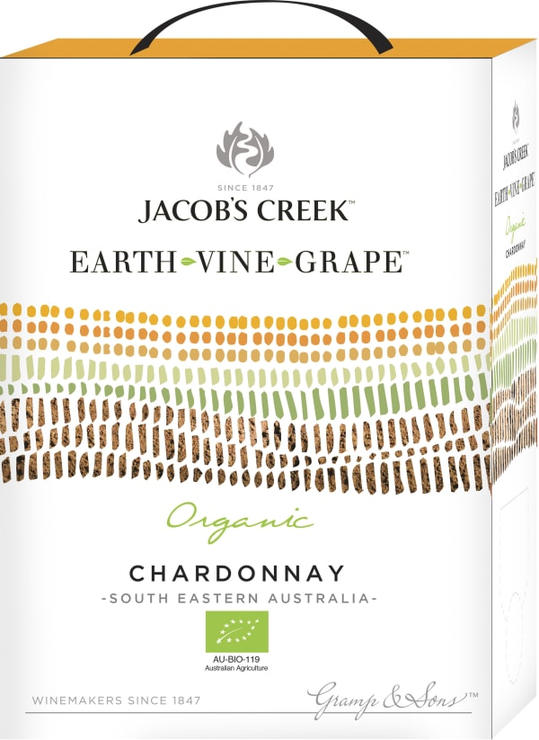 Jacob's Creek Earth Vine Grape Chardonnay 2016 bag-in-box
