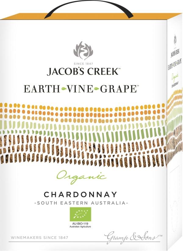 Jacob's Creek Earth Vine Grape Chardonnay 2016 lådvin