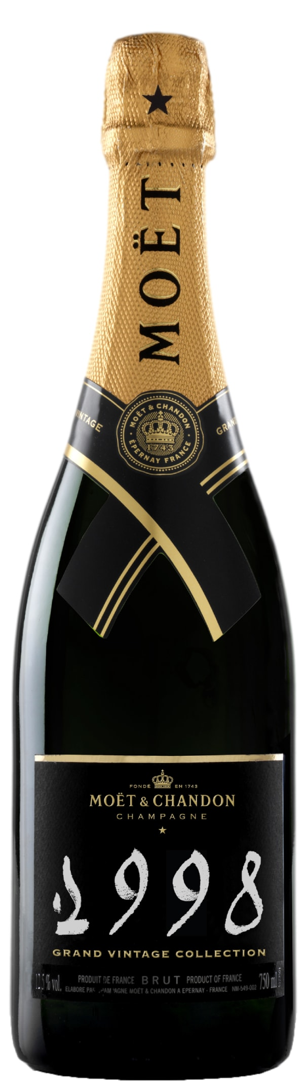Moët & Chandon Grand Vintage Collection Champagne Brut 1998