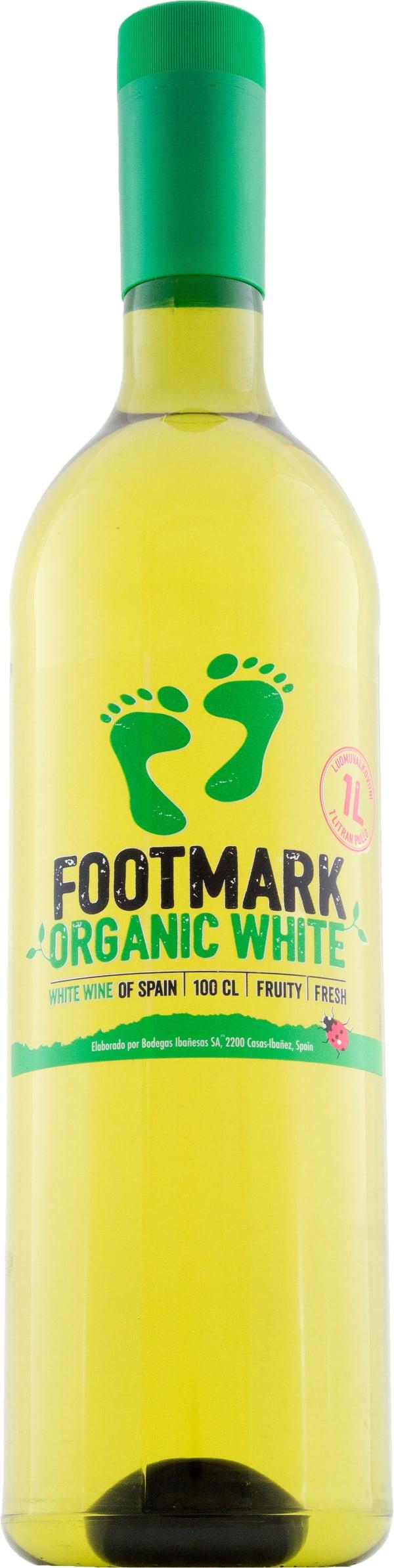 Footmark Organic White muovipullo