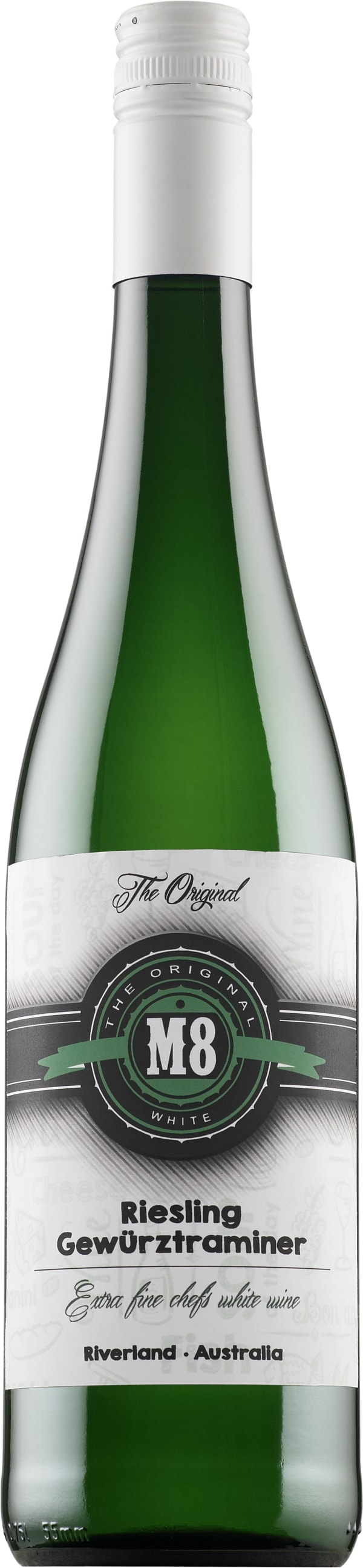 The Original M8 Riesling Gewürztraminer 2015
