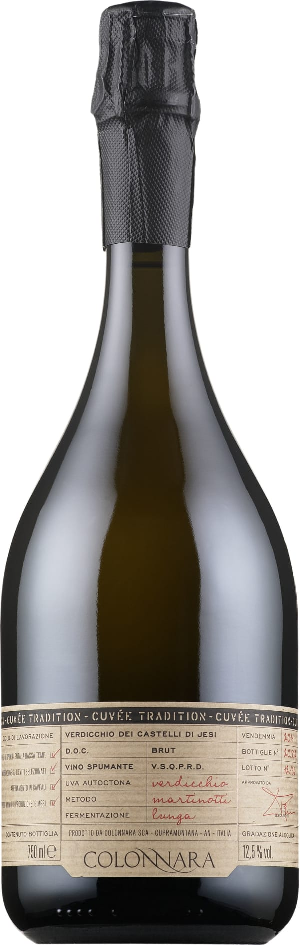 Colonnara Cuvée Tradition Brut 2014