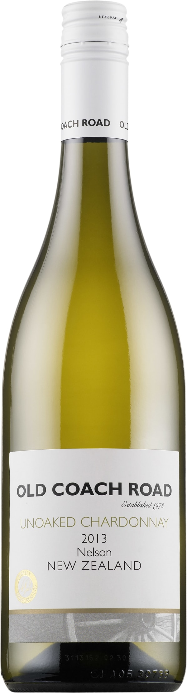 Old Coach Road Unoaked Chardonnay 2016