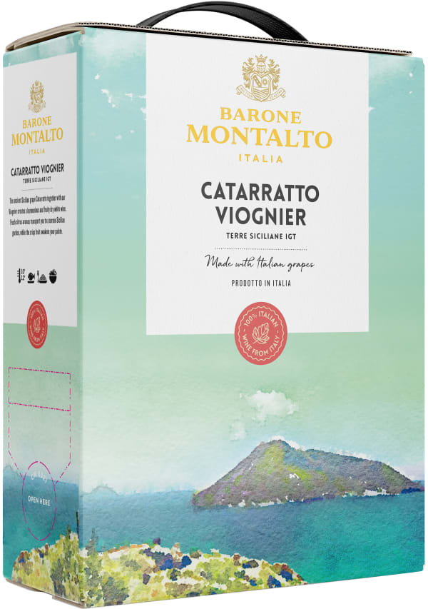 Montalto Cataratto Viognier 2014 hanapakkaus