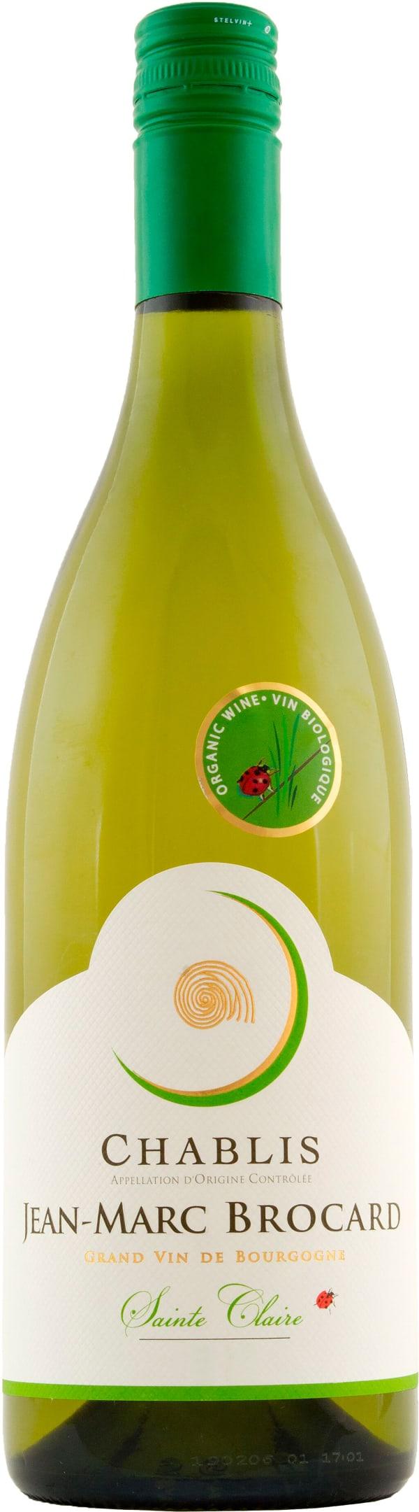 Brocard Chablis Sainte Claire Organic 2015