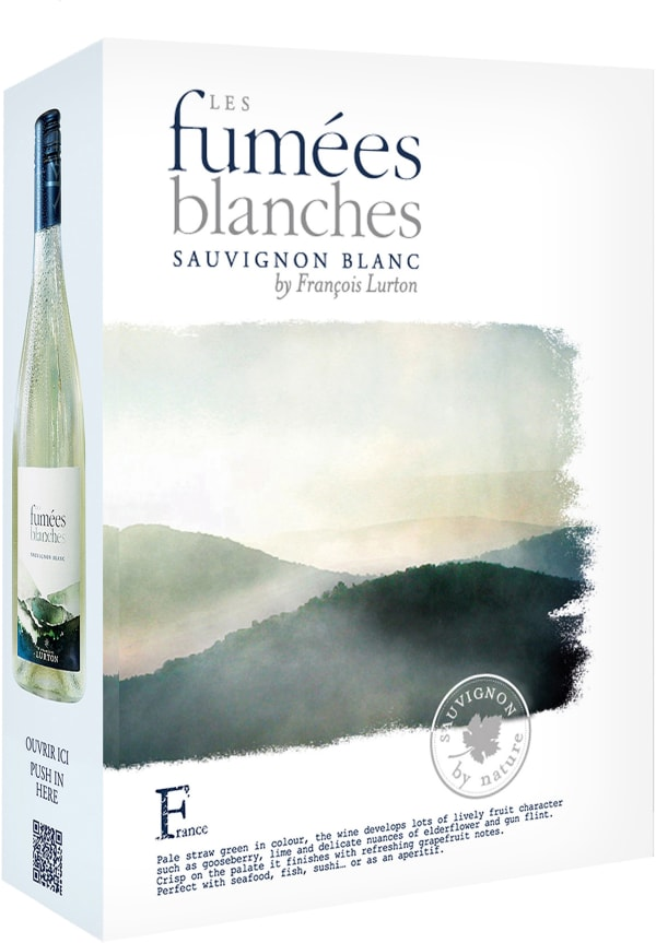 Les Fumées Blanches Sauvignon Blanc 2017 bag-in-box