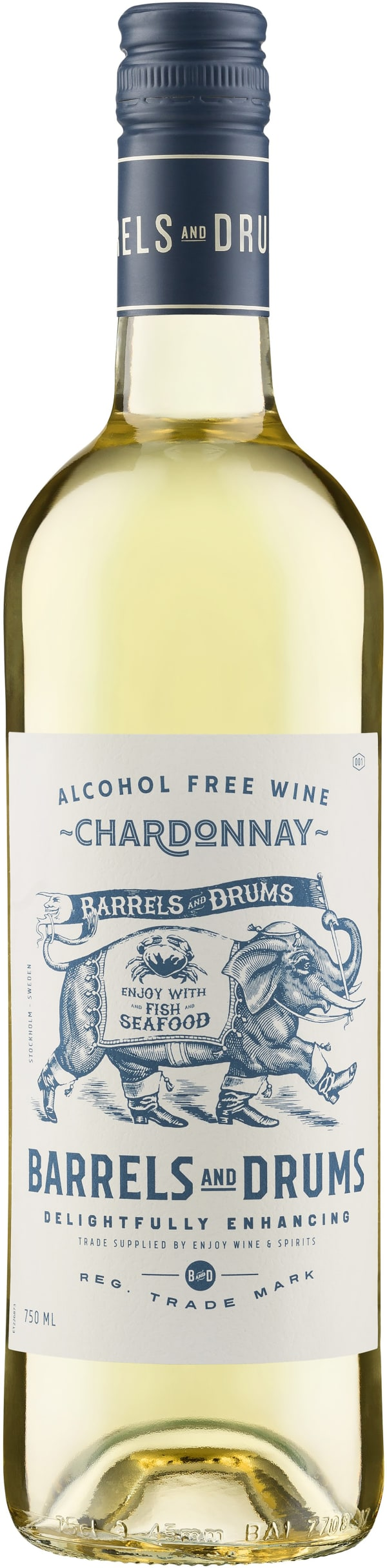 Barrels and Drums Chardonnay Alcohol Free