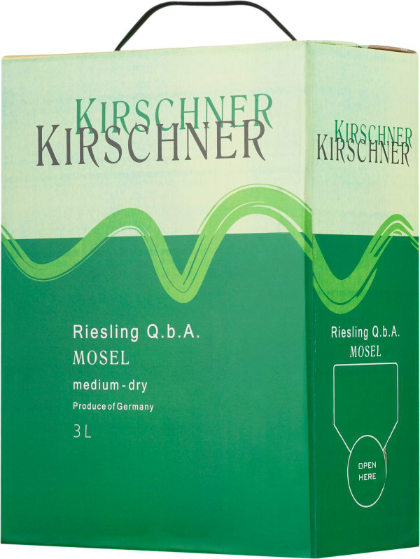 Kirschner Mosel Riesling 2012 bag-in-box