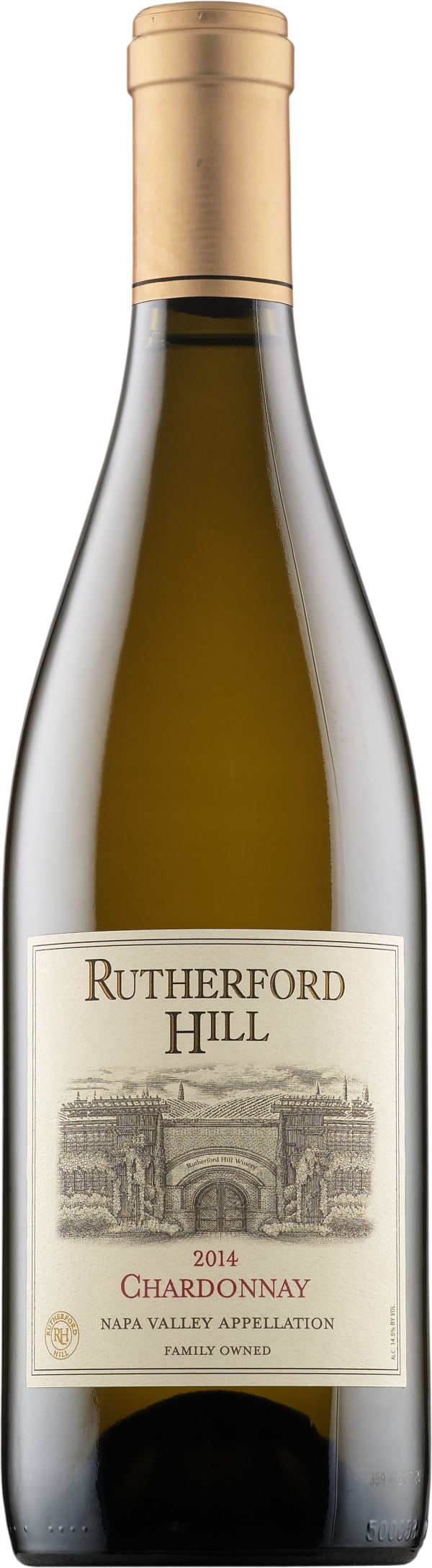 Rutherford Hill Chardonnay 2014