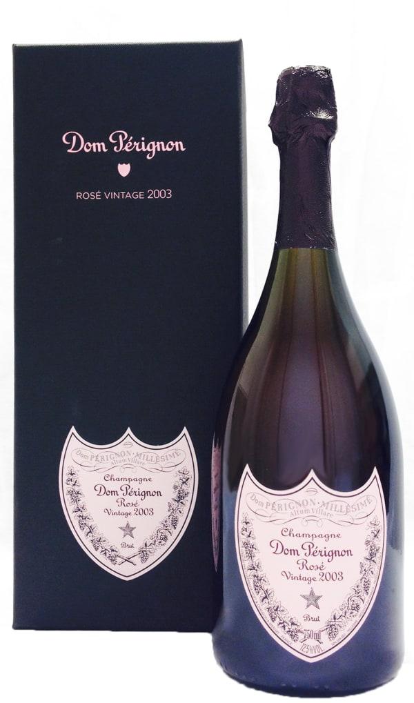 Dom Perignon Rosé Vintage Champagne Brut 2003