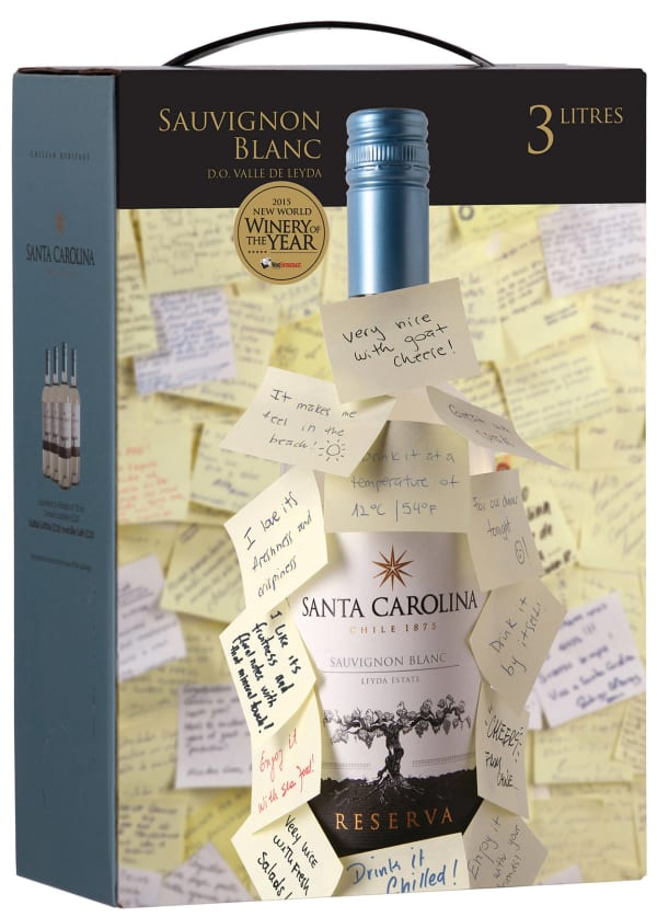 Santa Carolina Reserva Sauvignon Blanc 2015 lådvin