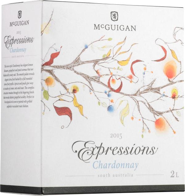 McGuigan Expressions Chardonnay 2015 hanapakkaus