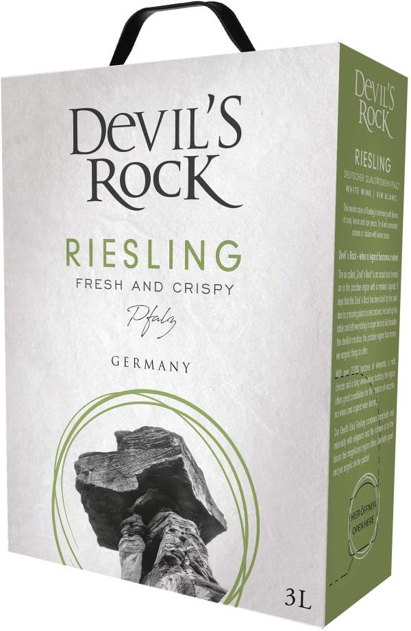 Devil's Rock Riesling  bag-in-box
