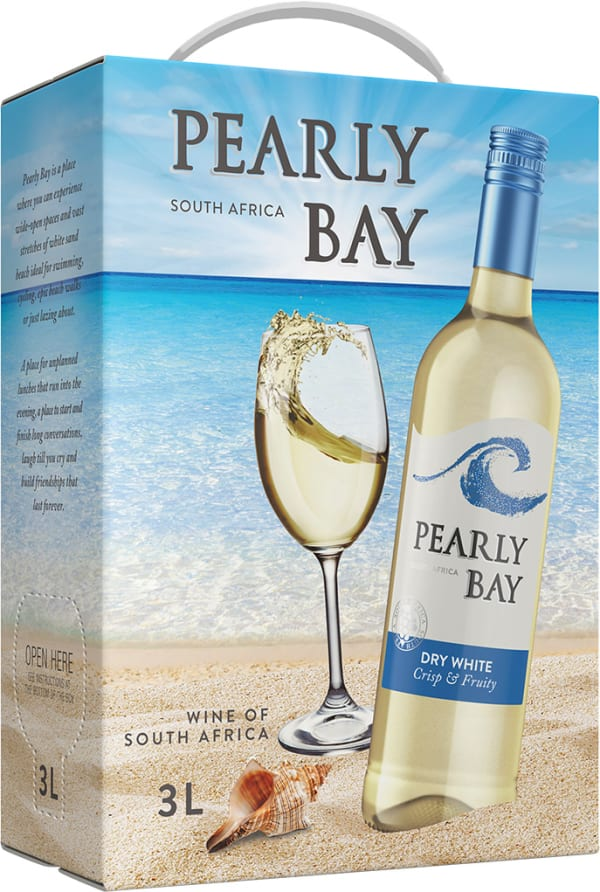 Pearly Bay Dry White  hanapakkaus