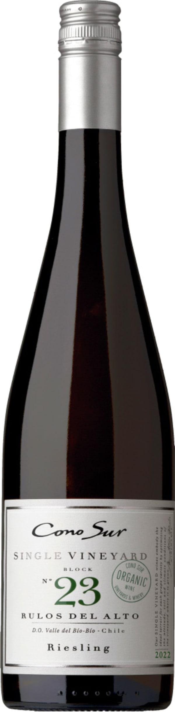 Cono Sur Single Vineyard Block 23 Riesling 2017