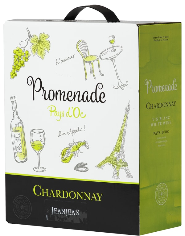 Jeanjean Promenade Chardonnay  2016 bag-in-box